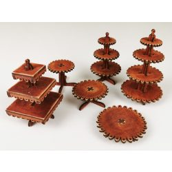6-Piece Lace-Cake Stand